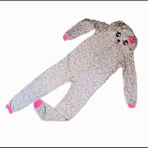 Pink Cheetah Print Onesie